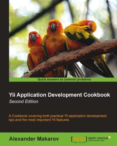 Yii Application Development Cookbook Second (Application Development Cookbook)