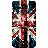 Casotec London Flag wallpaper Design Hard Back Case Cover for Motorola Nexus 6
