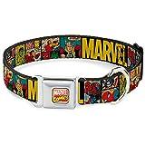 Buckle Down AVA Marvel Comics Hundehalsband