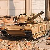SXPC RC Serbatoio M1A2 Veicolo Tattico Battaglia Principale Militare Carro Armato da Combattimento del Modello sonoro di Giocattoli elettronici