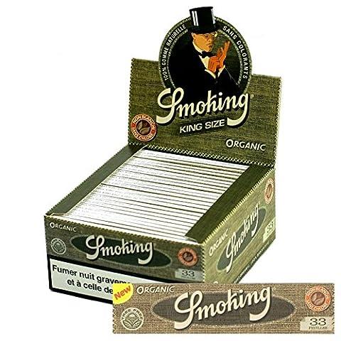 Papier à rouler Smoking New Bio King Size Lot de 50 feuilles