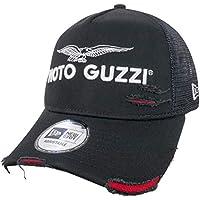 New Era Indossata Stile Camionista Moto Guzzi Visiera Cappellino fe17fdd0c52a