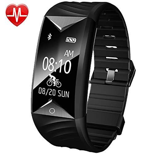 Fitness Tracker, Willful Activity Tracker Orologio Cardiofrequenzimetro da Polso Impermeabile IP67 Nuoto Braccialetto Bracciale Fitness Smart Watch Band Cardio Smartband Bluetooth Smartwatch Pedometro per Uomo Donna Bambini per iPhone Samsung Android iOS Smartphone ( Contapassi, Calorie, Distanza, Sonno, WhatsAPP Notifiche )