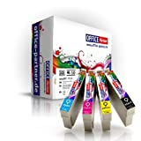 10er multiPack kompatible Druckerpatronen zu Epson T1295 mit Chip für Epson Stylus Office B42WD / BX305F / BX305FW / BX320FW / BX525WD / BX625FWD ; Stylus SX420W / SX425W / SX525WD / SX620FW