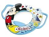 Lulabi - Disney - Mickey- Reductor de inodoro blando con asas, color azul