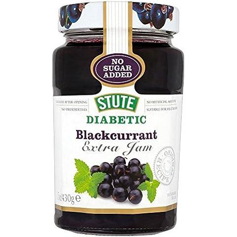 Stute Senza Zuccheri Aggiunti Marmellata Di Ribes Nero Diabetica (430g)