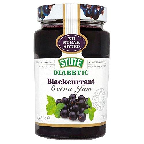 Stute Sans Sucre Ajouté Diabétique Cassis Confiture (430G)