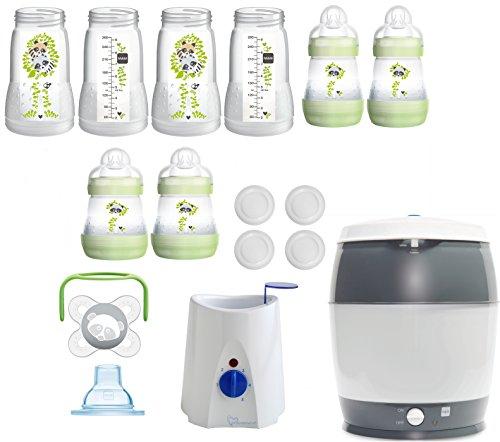 MAM primamma Set - Startset - AC Flaschen Starterset primamma Vaporisator Babykostwärmer + Geschenk