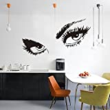 Audrey Hepburn Sexy Eyes Wall Stickers Living Room Decorations Diy Vinyl Adesivo De Parede Girls Home Decals Mural Art