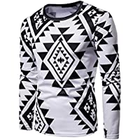 Ansenesna Camisetas Hombre Manga Camisas De Corta Sudaderas con Capucha OtoñO Invierno Casual Blusa con Estampado Indio Africano Dashiki Larga