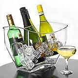 Gletscher Acryl Tulpenpartykübel - Weinkübel, Champagnerkübel, Getränkekübel, Flaschenkübel.