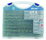 alpen SDS plus Hammer Drill F4 forte 2x Bits, Diameter: 5, 6, 8 x 110 MM and 6, 8, 10, 12 x 160 MM,