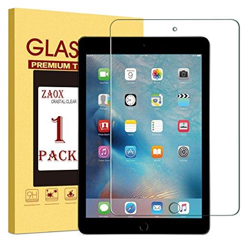 iPad Mini 4Displayschutzfolie, zaox Premium gehärtetes Glas Displayschutzfolie für Apple iPad Mini Tablet A1538, A1550Scratch/Anti-Fingerprint/Bubble Frei, 1 Stück