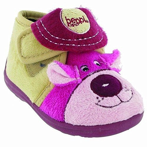 Mirak - Chaussons Bungle pour fille Rose