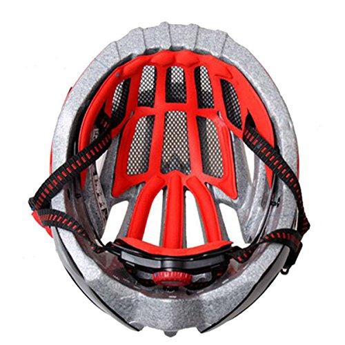tzq-andare-in-bicicletta-caschi-sportivisilverred-onesize