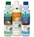 AB.Bauconcept GbR© Kombiangebot: HARO Clean & Green Natural-Active-Aqua Oil White