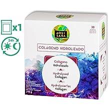 Colágeno Fortigel, magnesio, colágeno hidrolizado, colágeno ácido hialuronico, vitamina c, Acai y Bambú, 30 sobres, sabor fresa, tratamiento 1 mes. (30)