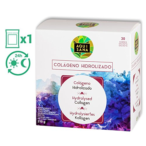 Collagene Fortigel, collagene idrolizzato, collagene acido ialuronico, collagene, 30 buste, sapore di fragola, trattamento 1 mese. (30)