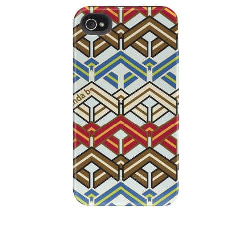 Case-mate Cinda B Tough Designer Cases for Apple iPhone 4/4s - Shibori Ravinia