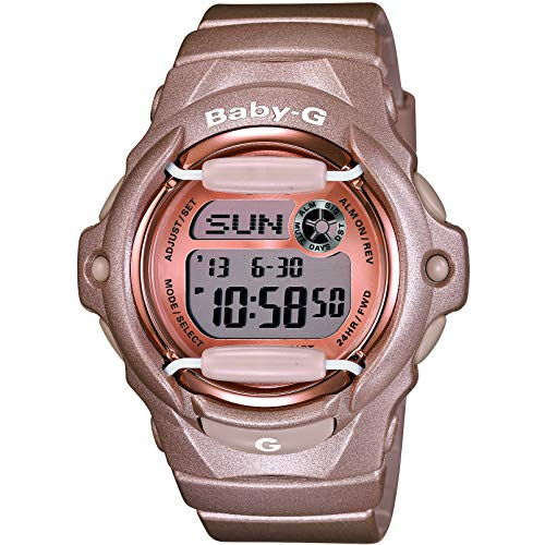 Casio Baby-G Damen-Armbanduhr BG169G4ER (Aus G-shock Edelstahl Uhren)
