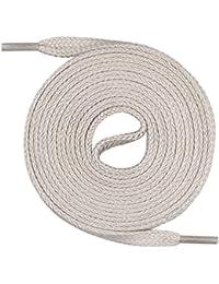 Lacets Mount Swiss© Premium, 1paire de lacets plats, 100% coton, indéchirables, largeur 7mm, longueur 45‑200cm