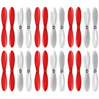 6 x Quantity of Estes Dart Red Clear Propeller Blades Props Propellers Transparent - FAST FROM Orlando, Florida USA!