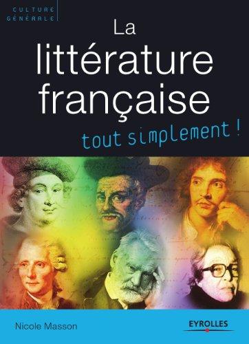 La littérature française