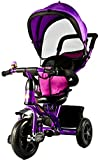 #9: Baybee Phoenix 4 in 1 Trolly Cycle Tricycle with Canopy and Parent Control
