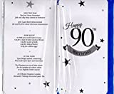 Blue Male 90th Birthday Card - 1928 Was A Very Special Year - 2018Year Card