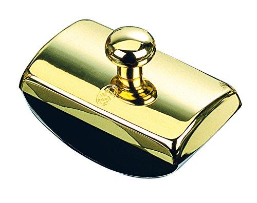 Timbre de llamada Tortuga bañado en oro de 23 kts, fabricado por El Casco®