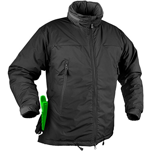 Helikon Husky Winter Taktische Jacke Schwarz Größe XL