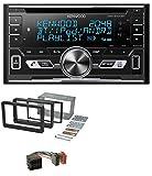 caraudio24 Kenwood DPX-5100BT Aux CD 2DIN MP3 Bluetooth USB Autoradio für Alfa Romeo 159 Spider Brera ab 05 Navi
