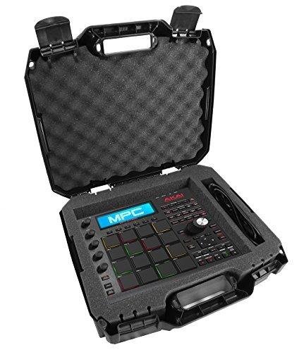 armorxl, der Fall 43,2cm für Tastatur Drum Controller-Passend für Akai Professional mpd218, mpd226, APC Mini, MPX16, mpd18, XR20, MPC Studio Schwarz, MPC Element, midimix, Tom Cat, Rhythm Wolf -