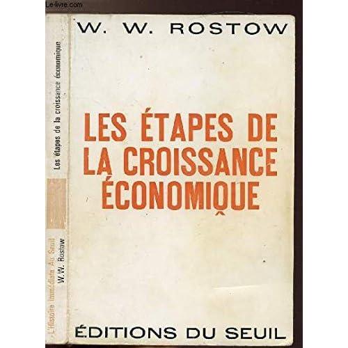 LES ETATS DE LA CROISSANCE ECONOMIQUE