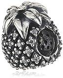 Pandora Damen-Charm 925 Sterling Silber Zirkonia weiß 791293CZ