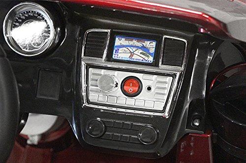 RC Auto kaufen Kinderauto Bild 6: Mercedes Benz GL63 AMG Jeep SUV Lizenz Kinderfahrzeug mit 2x 35W Motor Kinderauto Elektroauto Fernbedienung MP3 Anschluss in Schwarz*