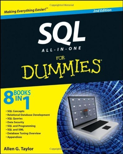 SQL All-in-One For Dummies by Taylor, Allen G. (2011) Paperback