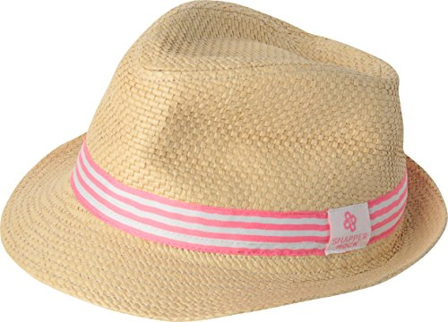 Snapper Rock Sommer Fedora Hut für Babies & Kinder Jungen & Mädchen am Strand, Pool und Drauβen Rosa S, 0-2 Jahren