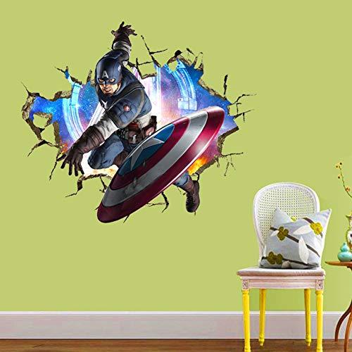 rtoon Dekorative Vinyl Home Wallpapers Dekoration Wandtattoo Kinderzimmer Anime Wanddekoration Kunst Dekor ()