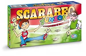 Editrice giochi 6034023 gioco da tavolo scarabeo junior giochi e giocattoli - Scarabeo gioco da tavolo ...