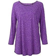 Cebbay Sweatshirt Femme T Shirt, Pull and Bear Supérieure Vetement Chaud Veste Pullover,Manche Longue Automne Hiver Haut Coat Blouse