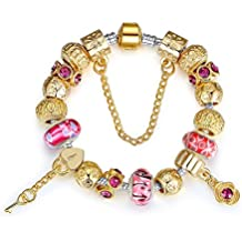 Europäischen Charme-Armband#2-The Key to Your Heart charms-Armband r-us.com