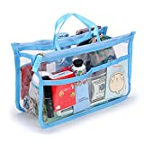 Best Handbag Organizer Inserts - IGNPION Transparent PVC Insert Handbag Organizer 8 Pockets Review