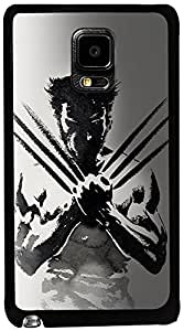 PrintVisa Movies Wolverine Case Cover for Samsung Galaxy Note Edge