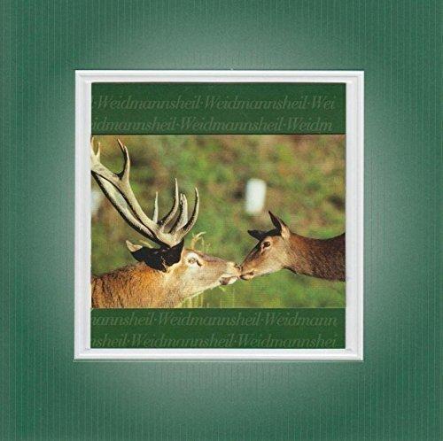 Handmadegruss Jagd Grußkarten. Weidmannsheil! Wir sind seit Jahren erfolgreich die erste Adresse für Jäger/innen in - Grußkarten Kuh