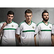 2016UEFA Euro Cup Nordirland Home Football Jersey in Grün