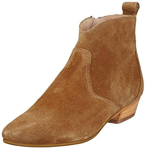 Marc O'Polo Damen Flat Heel Bootie 80114076001300 Schlupfstiefel