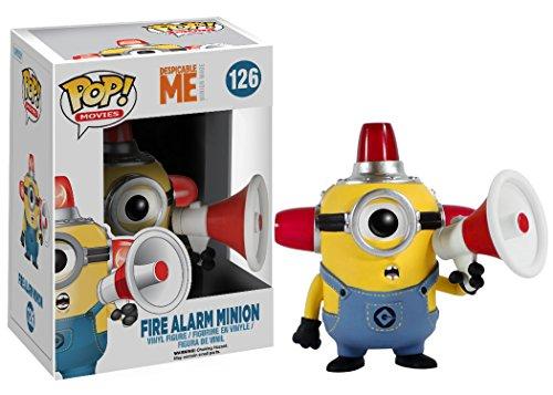 Funko Pop Minion Alarma de Incendio (Los Minions 126) Funko Pop Los Minions
