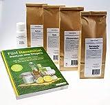 Geschenk-Set Fünf Hausmittel ersetzen eine Drogerie I Natron I Soda I Essig I Zitronensäure I...