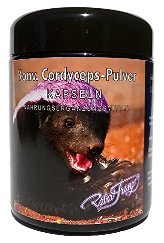 Cordyceps-Pulver Kapseln by Robert Franz